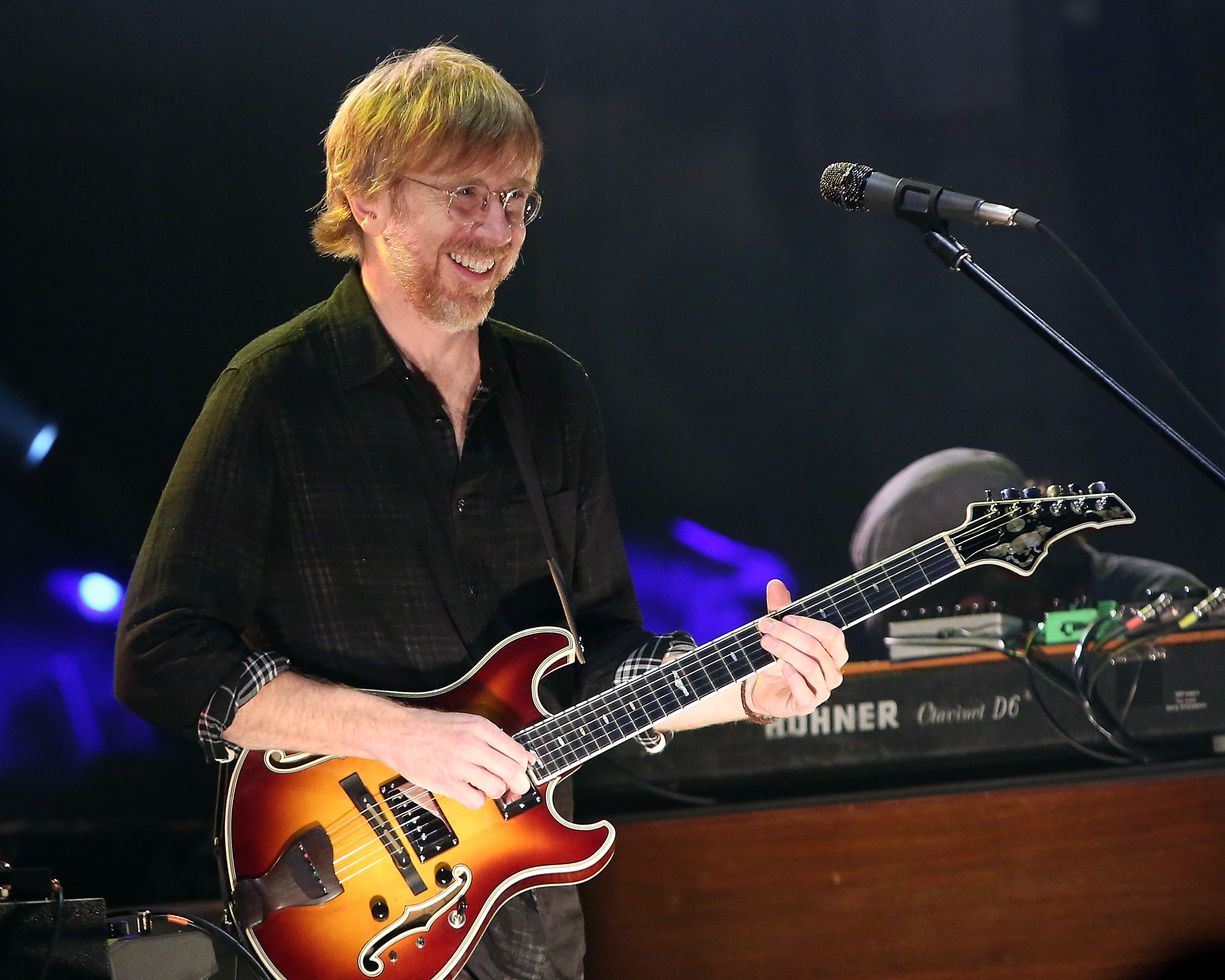 Trey Anastasio performs at Beacon Theatre on Dec. 11, 2014 in New York City.