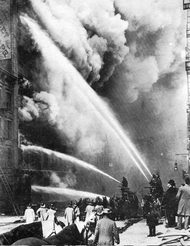 Triangle Shirtwaist Factory Fire,