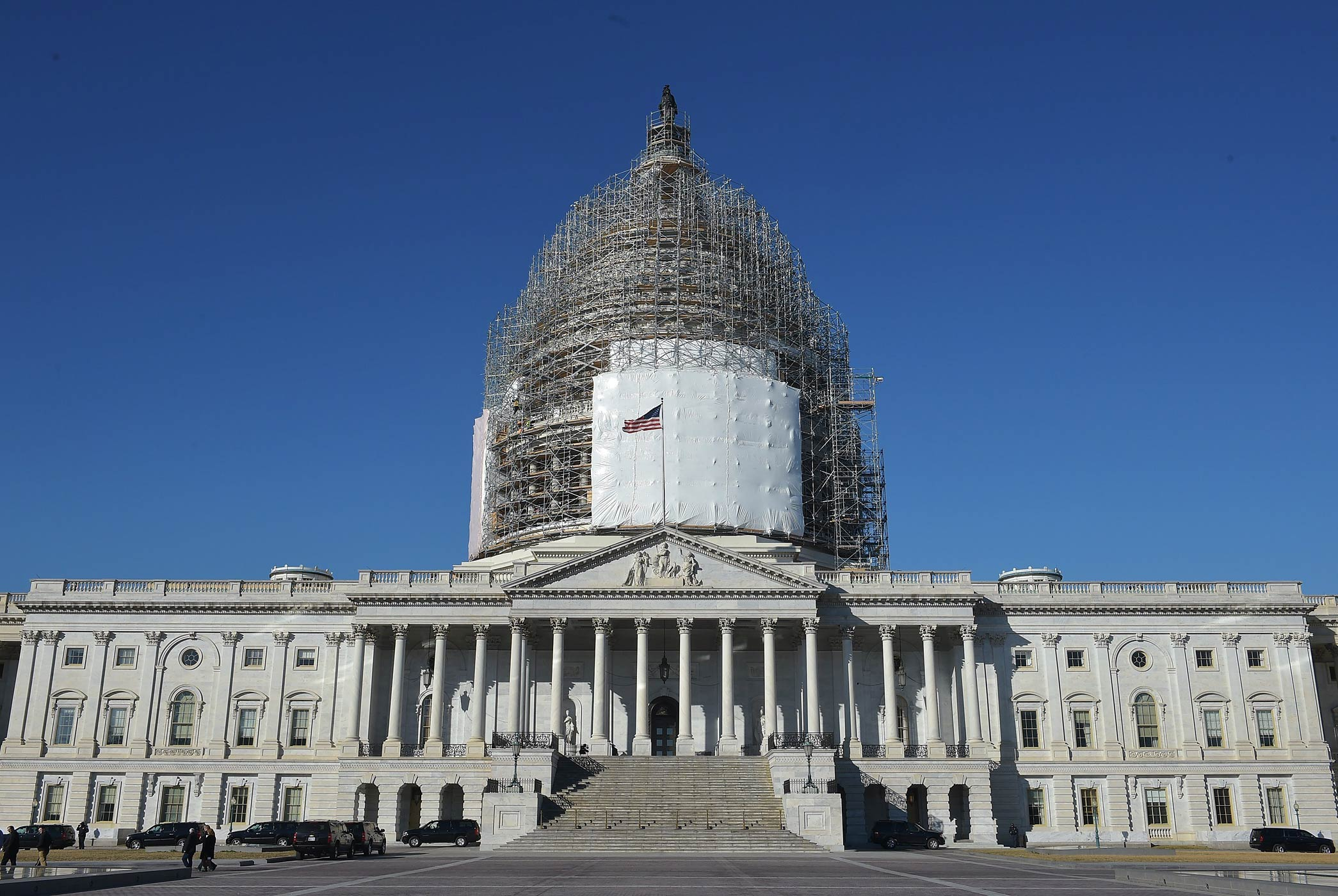 The US Capitol seen on Feb. 11, 2015 in Washington.