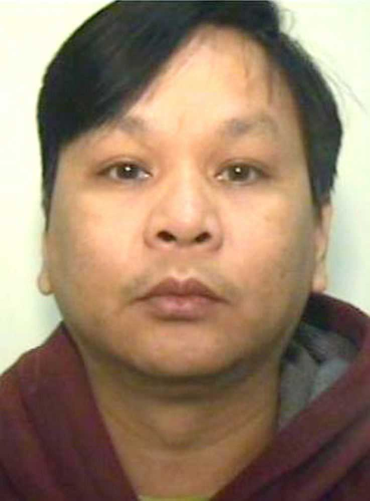 An undated handout photograph shows 49 year old Filipino Victorino Chua, a former nurse at Stepping Hill Hospital in Stockport, north west England.