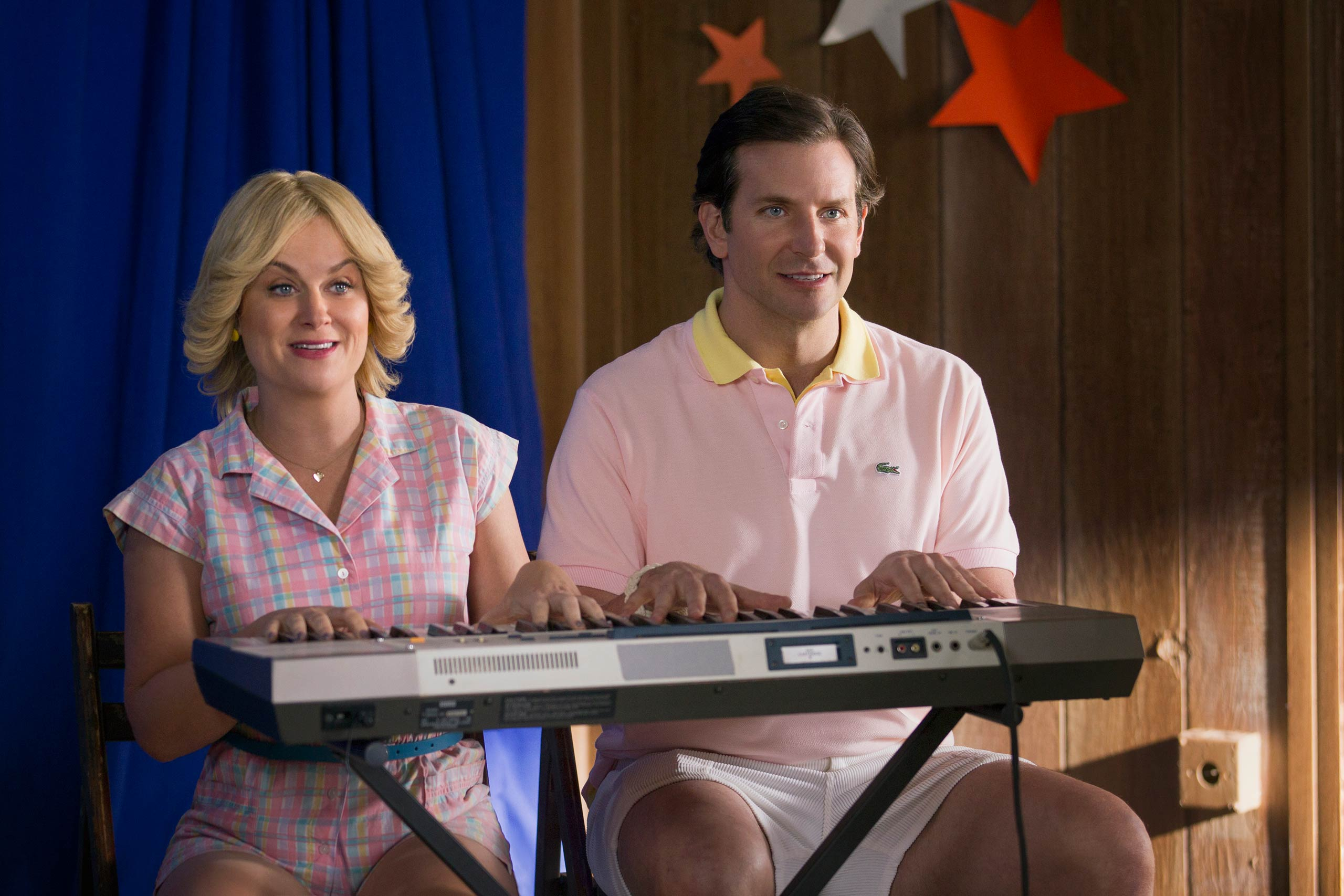 Amy Poehler and Bradley Cooper in <i>Wet Hot American Summer: First Day Of Camp</i>