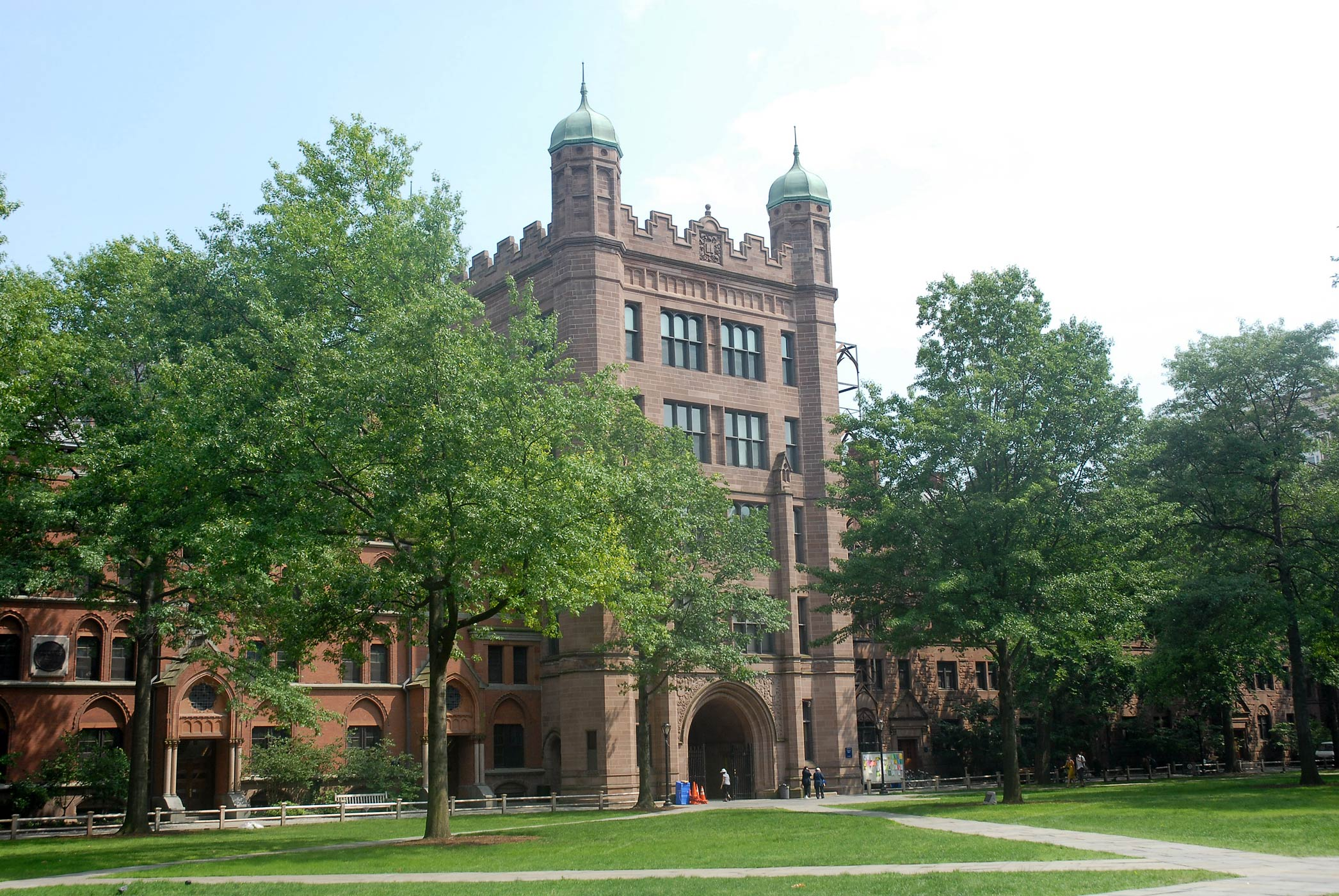 The Yale University campus is seen on June 28, 2007 in New Haven, Conn.