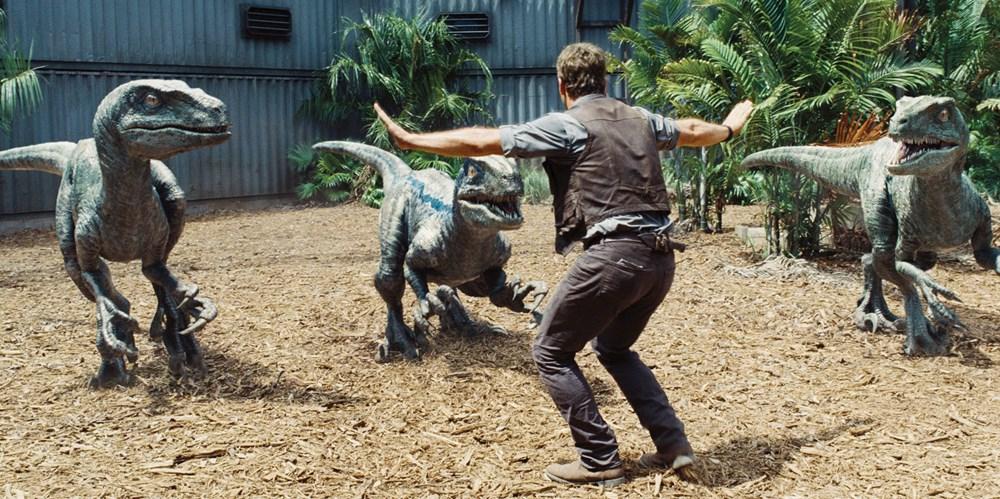 Chris Pratt as Owen Grady in 'Jurassic World.'