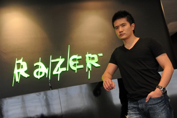 Min-Liang Tang at Razer's research and development centre in Singapore.