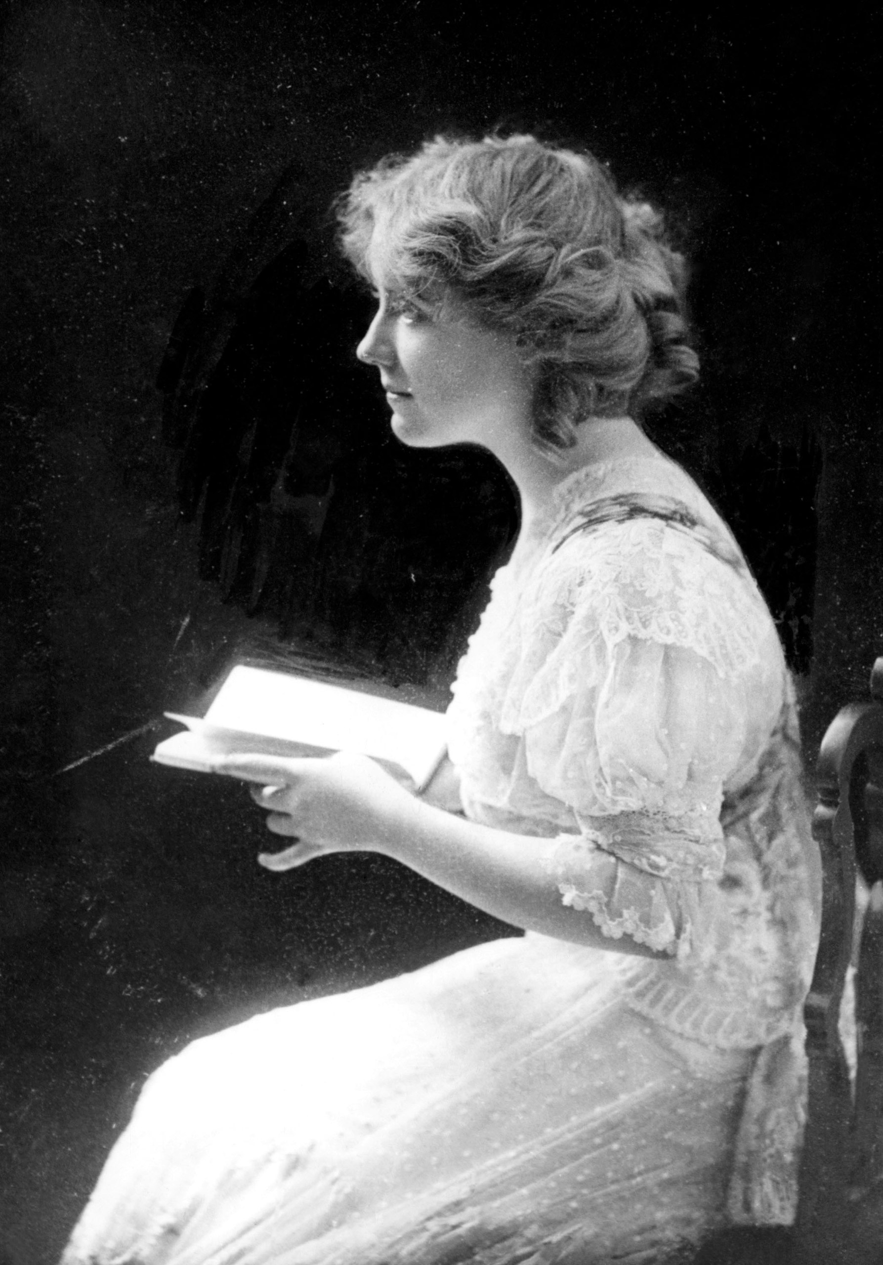American stage actress and director Antoinette Perry, (1888-1946), c. 1910.