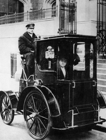 NYC Taxi Cab 1910