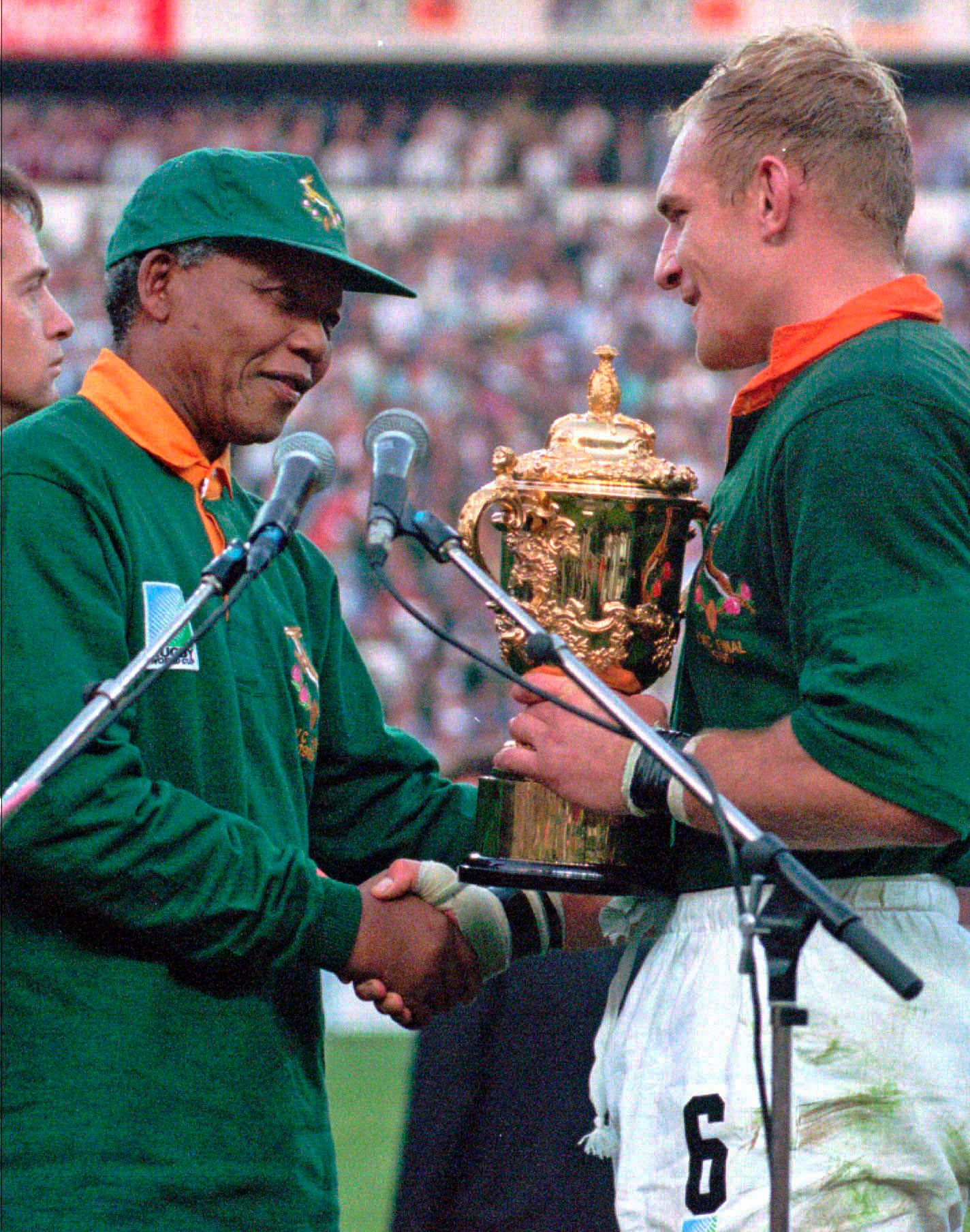 Photos: Nelson Mandela and South Africa's 1995 Rugby World Cup Win | Time