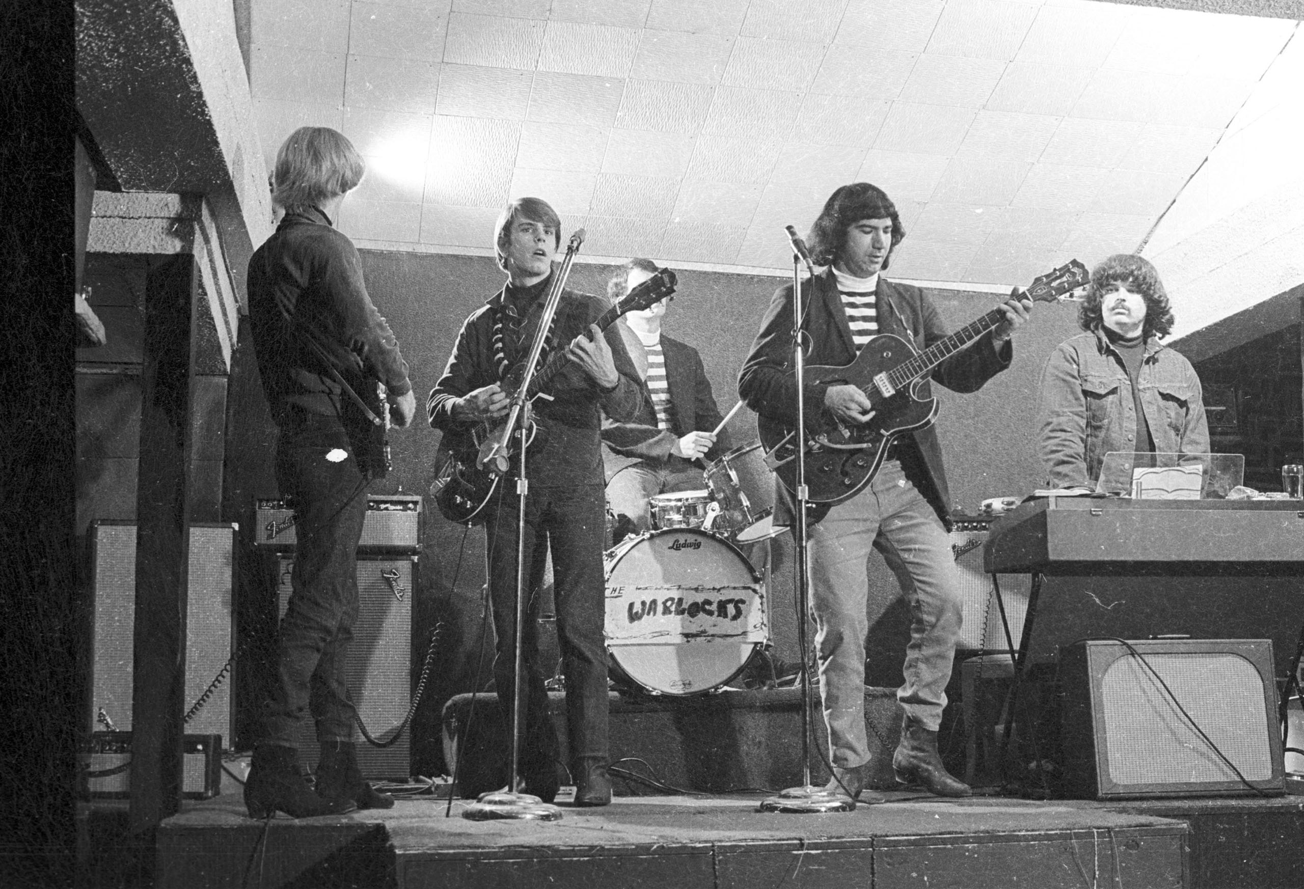 The Grateful Dead when they started playing as the Warlocks, 1965.