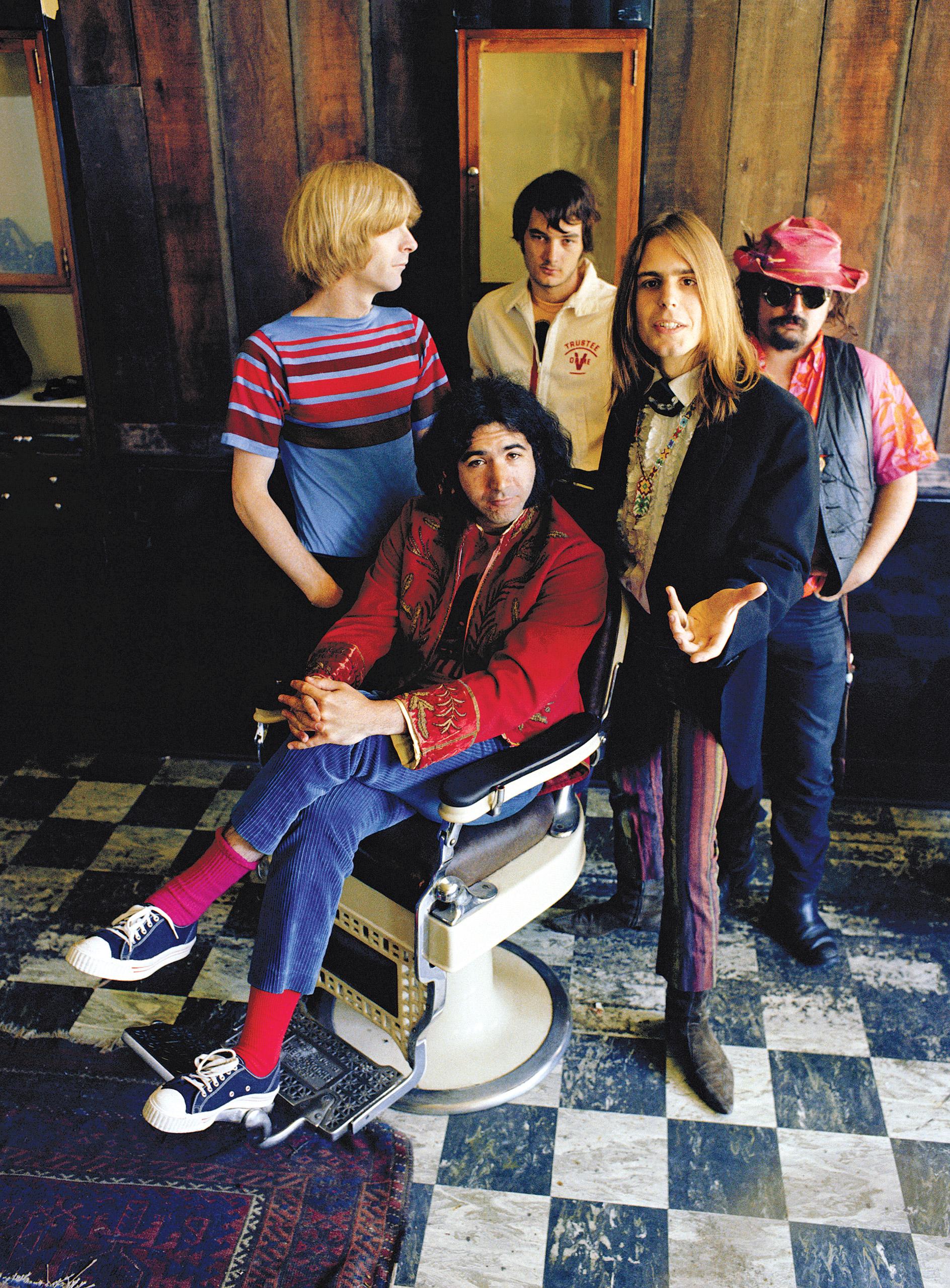 "In 1967, from left: Lesh, Garcia, Kreutzmann, Weir and Ron ""Pigpen"" McKernan."