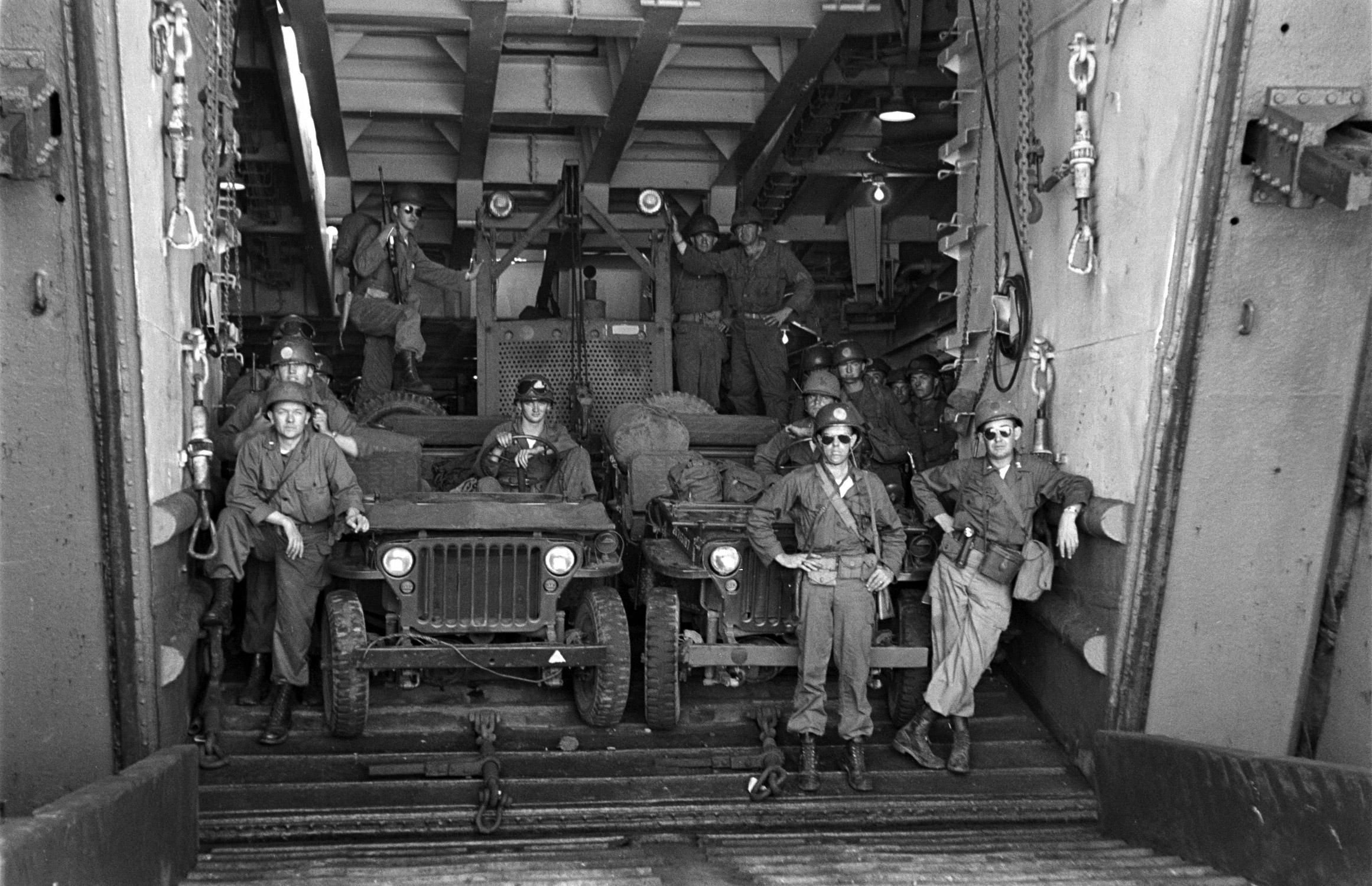 The 1st Cavalry in Korea, July 1950.