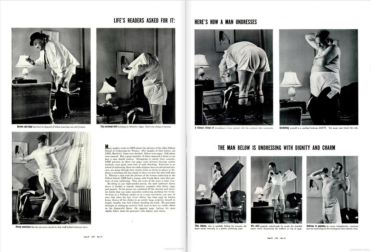 From the March 15, 1937 issue of LIFE magazine. Photos by Carola Rust.