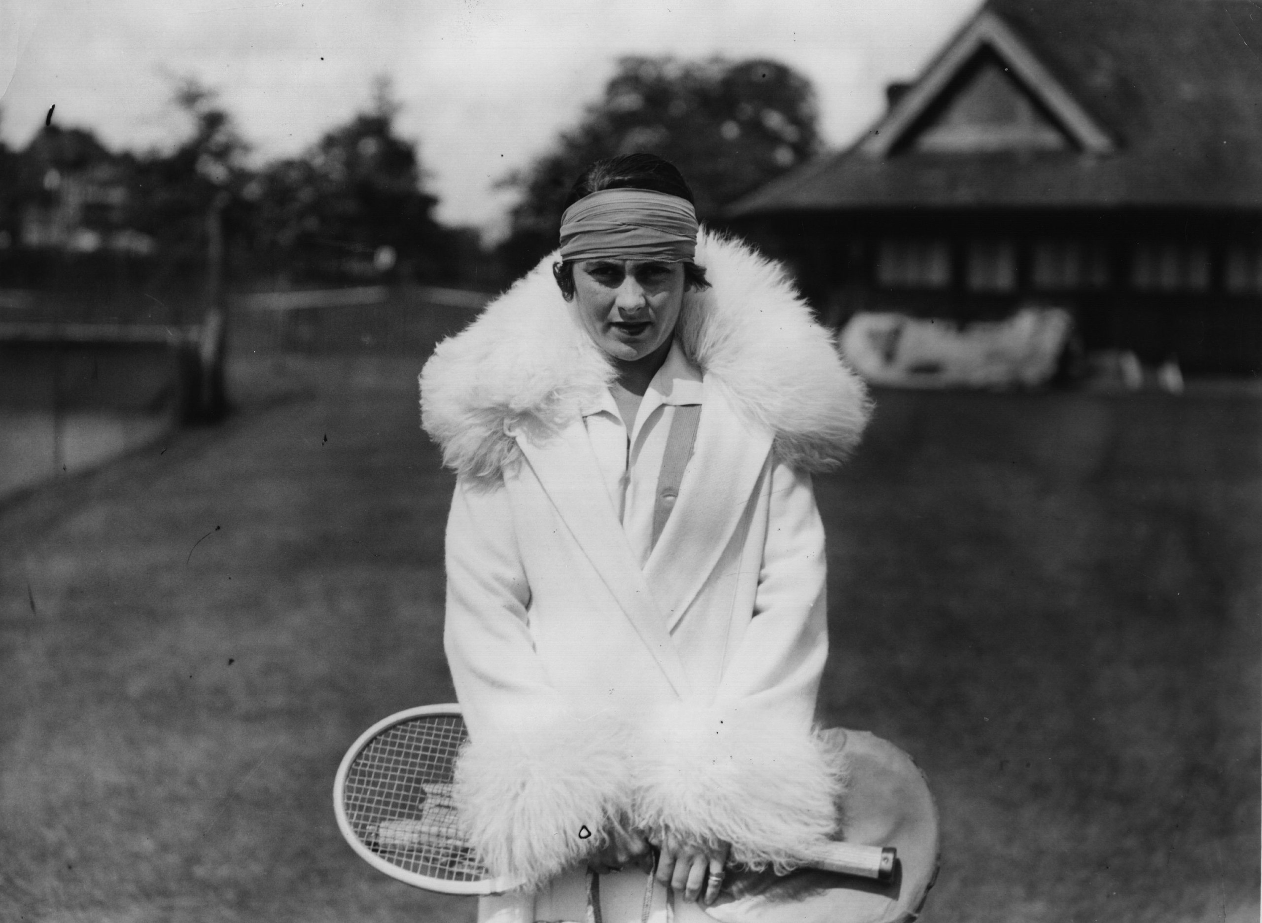 Spanish tennis player Lili de Alvarez after she had beaten Molla Mallory in the lawn tennis ladies singles championships at Beckenham, England, on June 12, 1926. Alvarez made headlines in 1931 for wearing what TIME described that year as  a split skirt which resembled a pair of abbreviated pajamas  (in other words, shorts) at Wimbledon.