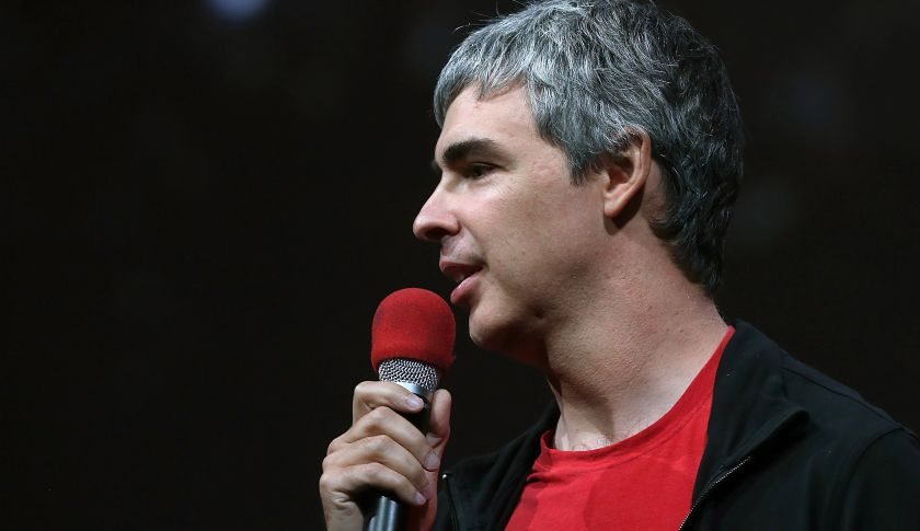 Larry Page, Google's co-founder and CEO.