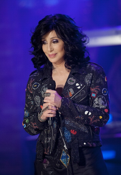 Cher performs at the 'Late Show with David Letterman' on Sept. 24, 2013.