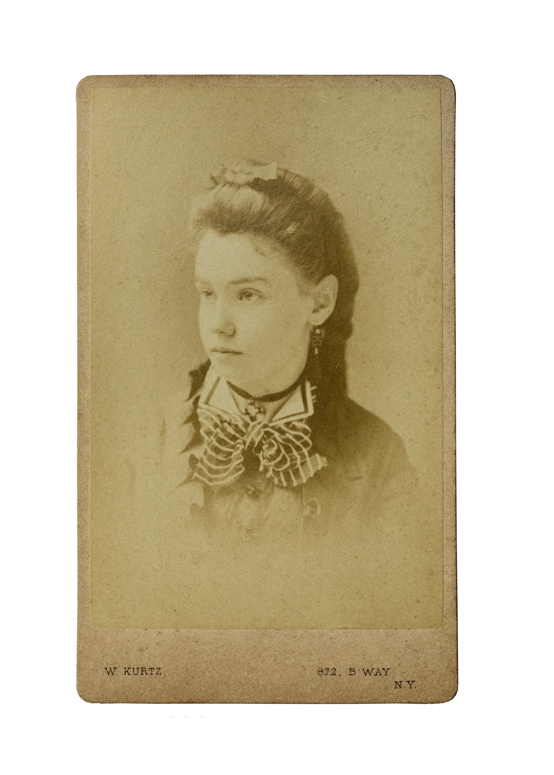 Unidentified young woman of Eastville.