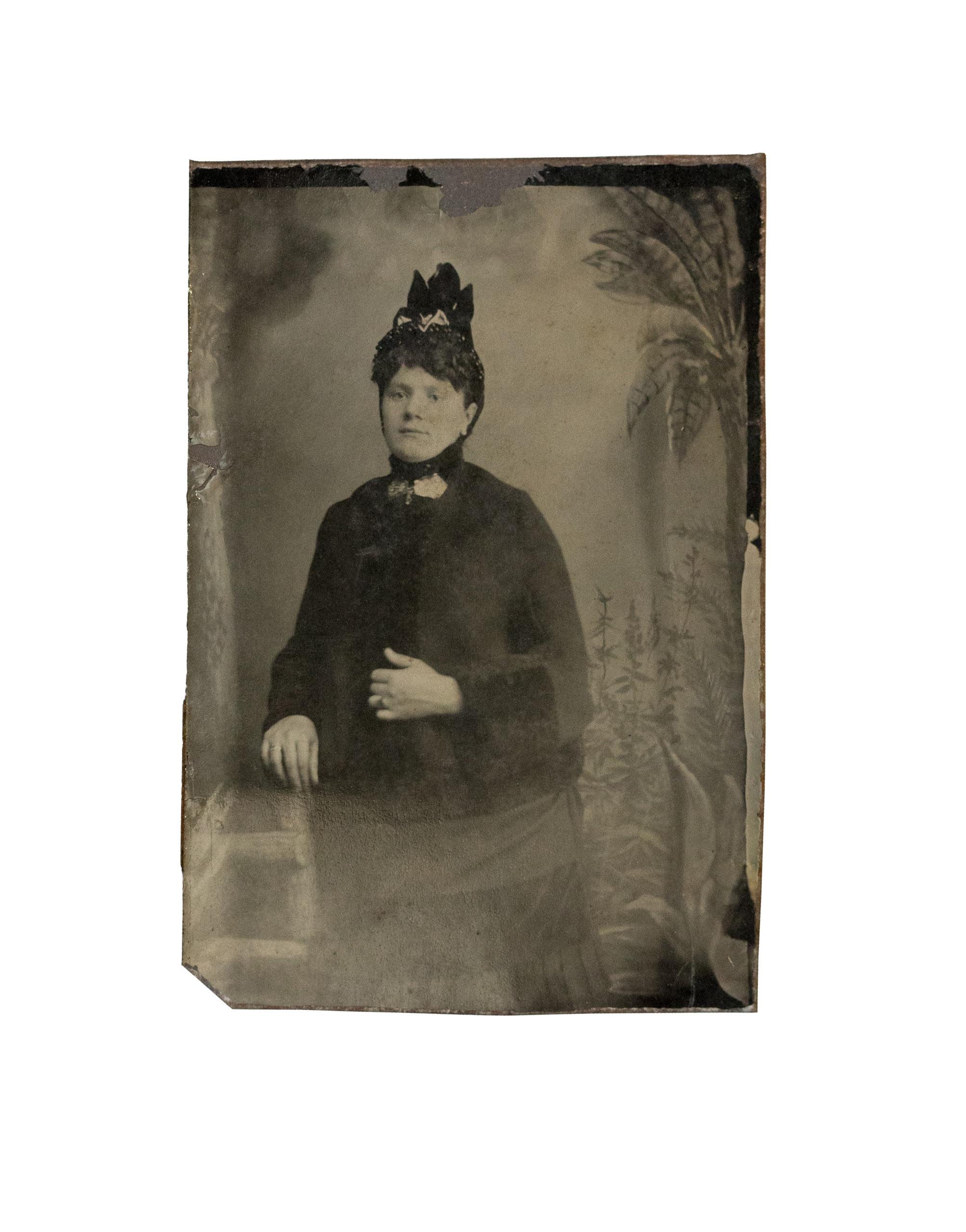 Unidentified woman of Eastville.