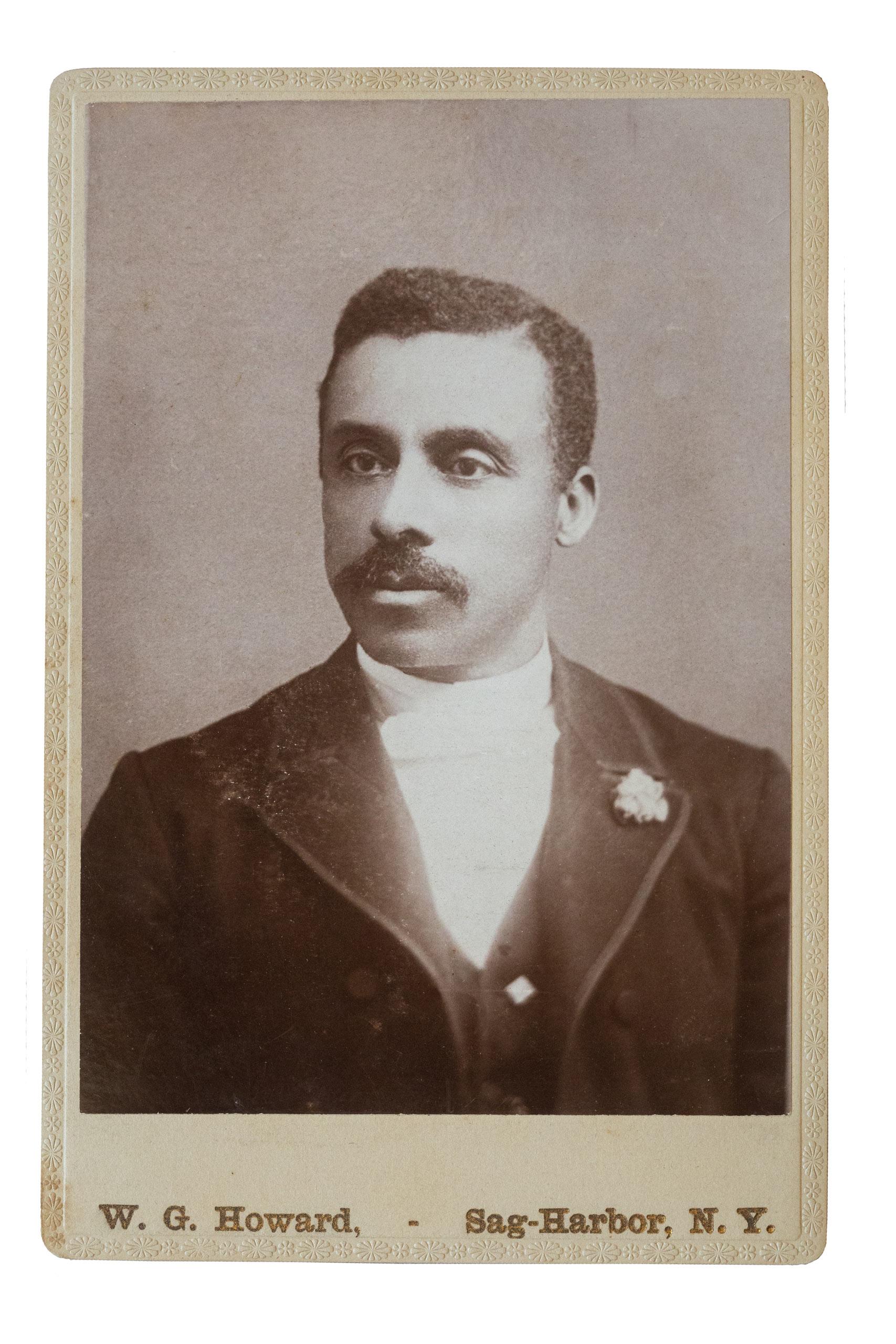 Augustus Johnson was born in Sag Harbor, N.Y. in 1872.
