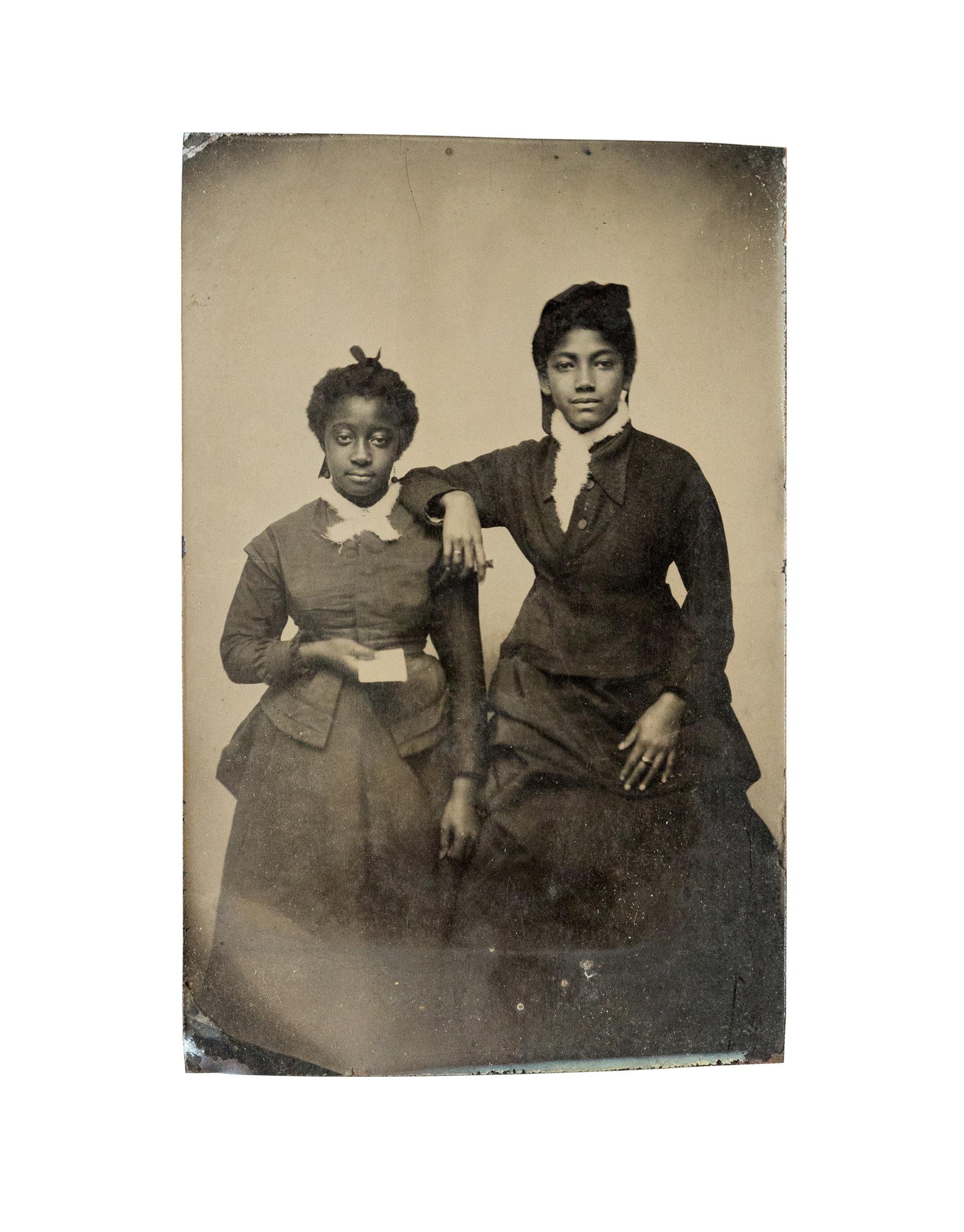 Unidentified young women.