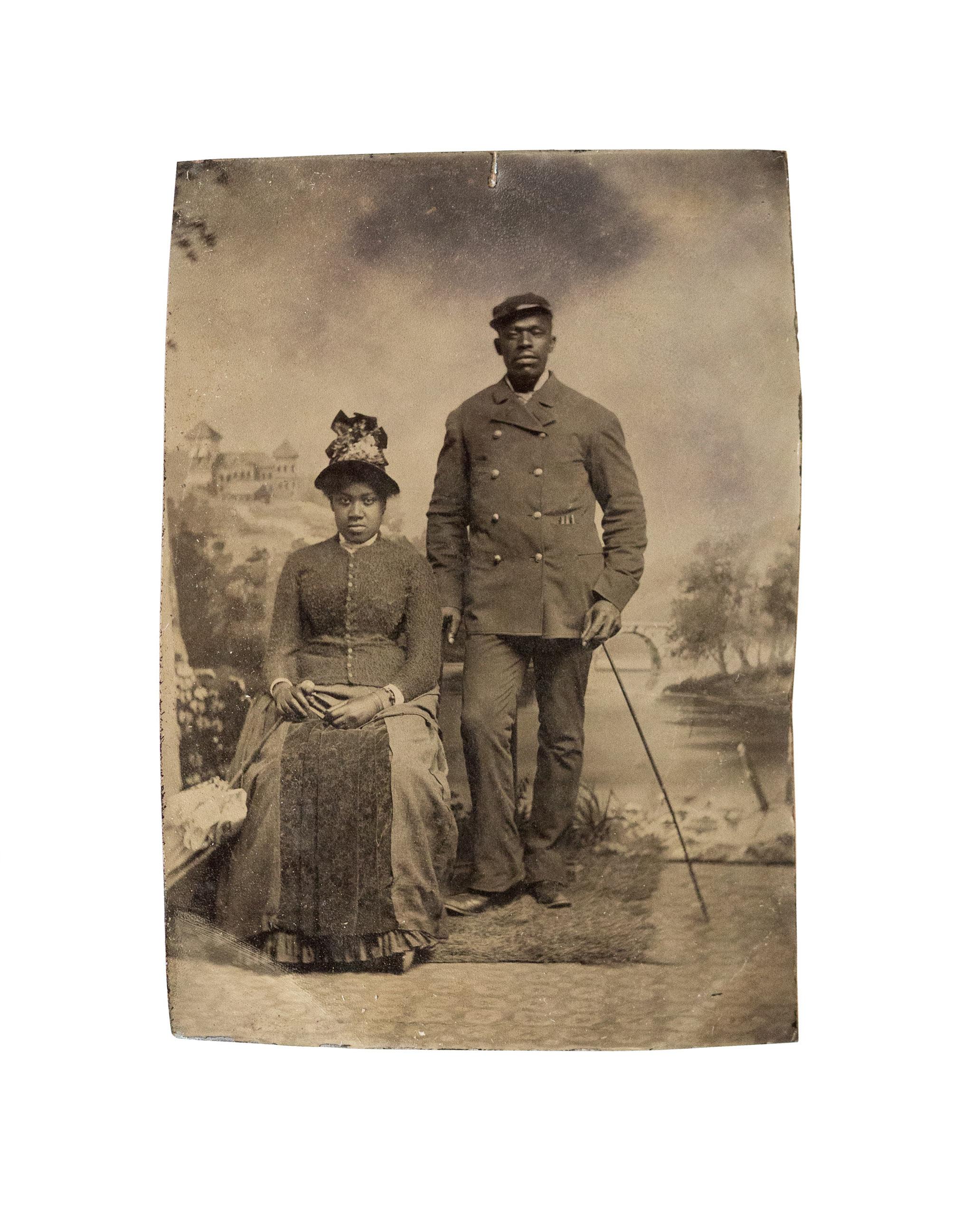 Unidentified couple.