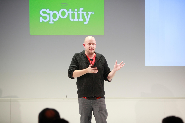 Spotify founder and CEO Daniel Ek.