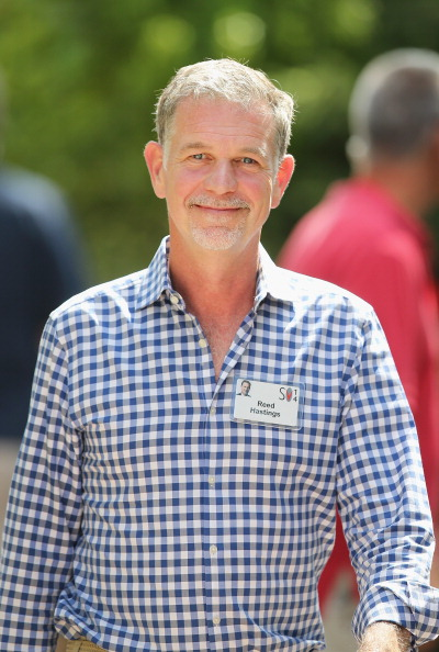 Reed Hastings at the Allen & Company Sun Valley Conference in Sun Valley, Idaho on July 9, 2014.