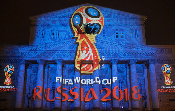 The 2018 FIFA World Cup Russia official emblem was unveiled in Moscow on Oct. 28, 2014