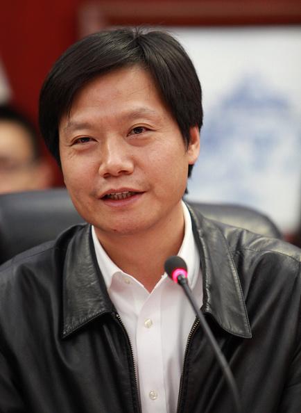 Lei Jun at Wuhan University in Wuhan, China on Nov. 29, 2014.