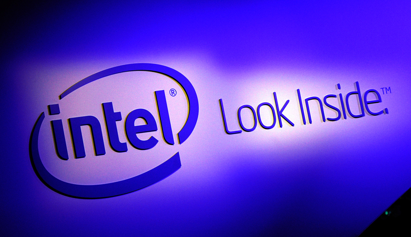 A general view of the Intel booth at the 2014 International CES at the Las Vegas Convention Center on January 7, 2014 in Las Vegas, Nevada.