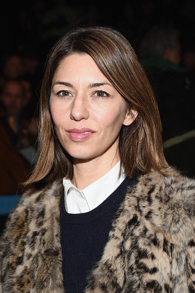 Sofia Coppola attends the Anna Sui fashion show in New York City on Feb. 18, 2015.