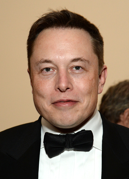Elon Musk attends LACMA's 50th Anniversary Gala in Los Angeles on April 18, 2015.