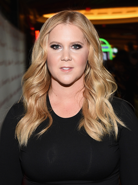 Amy Schumer at the CinemaCon Big Screen Achievement Awards in Las Vegas on April 23, 2015.