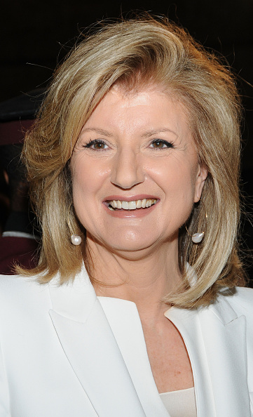 Arianna Huffington at an event in New York City on May 7, 2015.