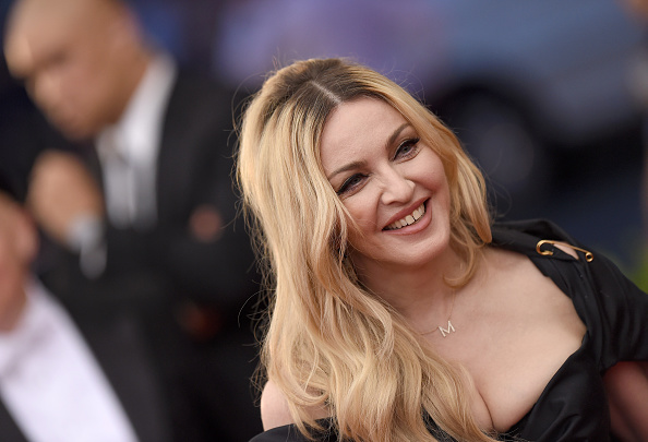 Madonna attends the China: Through the Looking Glass Costume Institute Benefit Gala at the Metropolitan Museum of Art in New York City on May 4, 2015