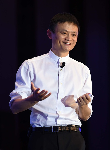 Jack Ma at the Global Women Entrepreneurs Conference in Hangzhou, China on May 20, 2015.