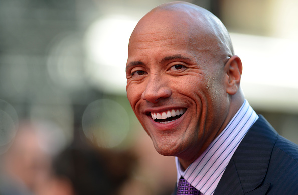 Dwayne johnson attends the U.K. premiere of San Andreas at Odeon Leicester Square in London on May 21, 2015