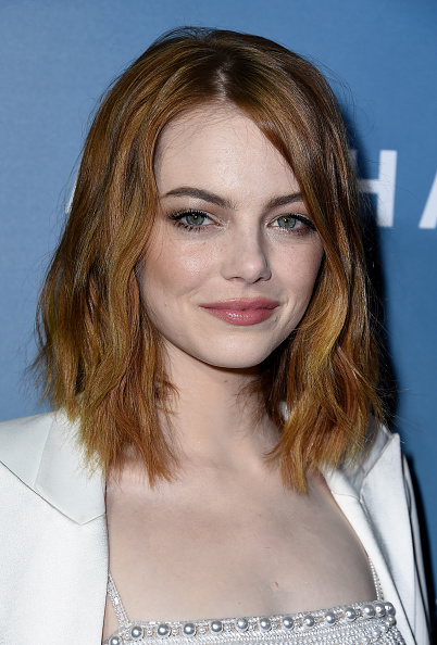 Emma Stone at the  Aloha  premiere in West Hollywood, Calif. on May 27, 2015.