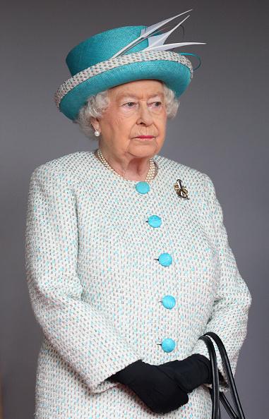 Queen Elizabeth II visits Lancaster Castle in Lancaster, England on May 29, 2015.
