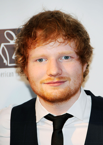 Ed Sheeran attends the 9th Annual American Institute For Stuttering Benefit Gala in New York City on June 8, 2015.