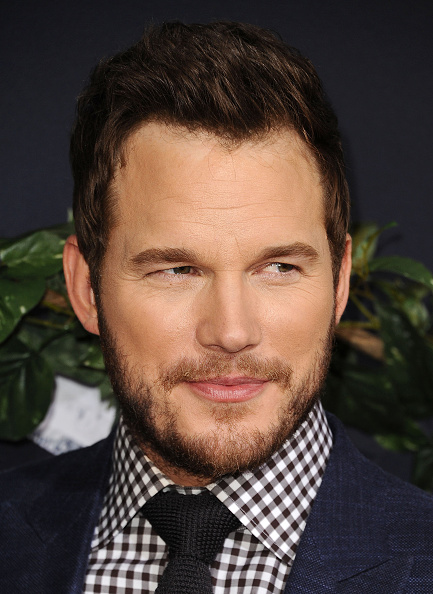 Chris Pratt at the premiere of 'Jurassic World' in Hollywood on June 9, 2015.