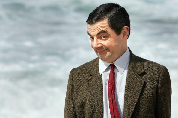 Rowan Atkinson in character as Mr. Bean arrives at Bondi Beach in Sydney to promote his film Mr. Bean's Holiday  on March 7, 2007