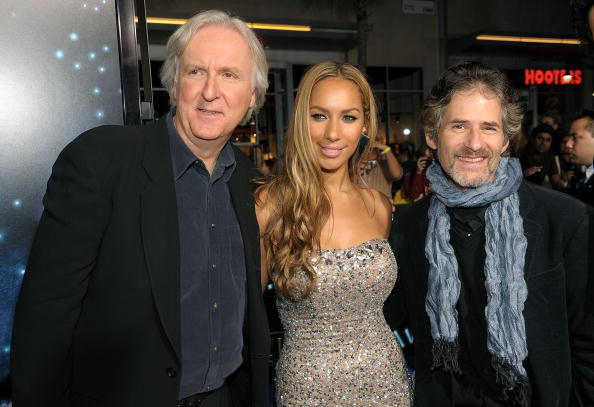 Director James Cameron, singer Leona Lewis and composer James Horner arrive at the premiere of 20th Century Fox's  Avatar  at the Grauman's Chinese Theatre on December 16, 2009 in Hollywood, California