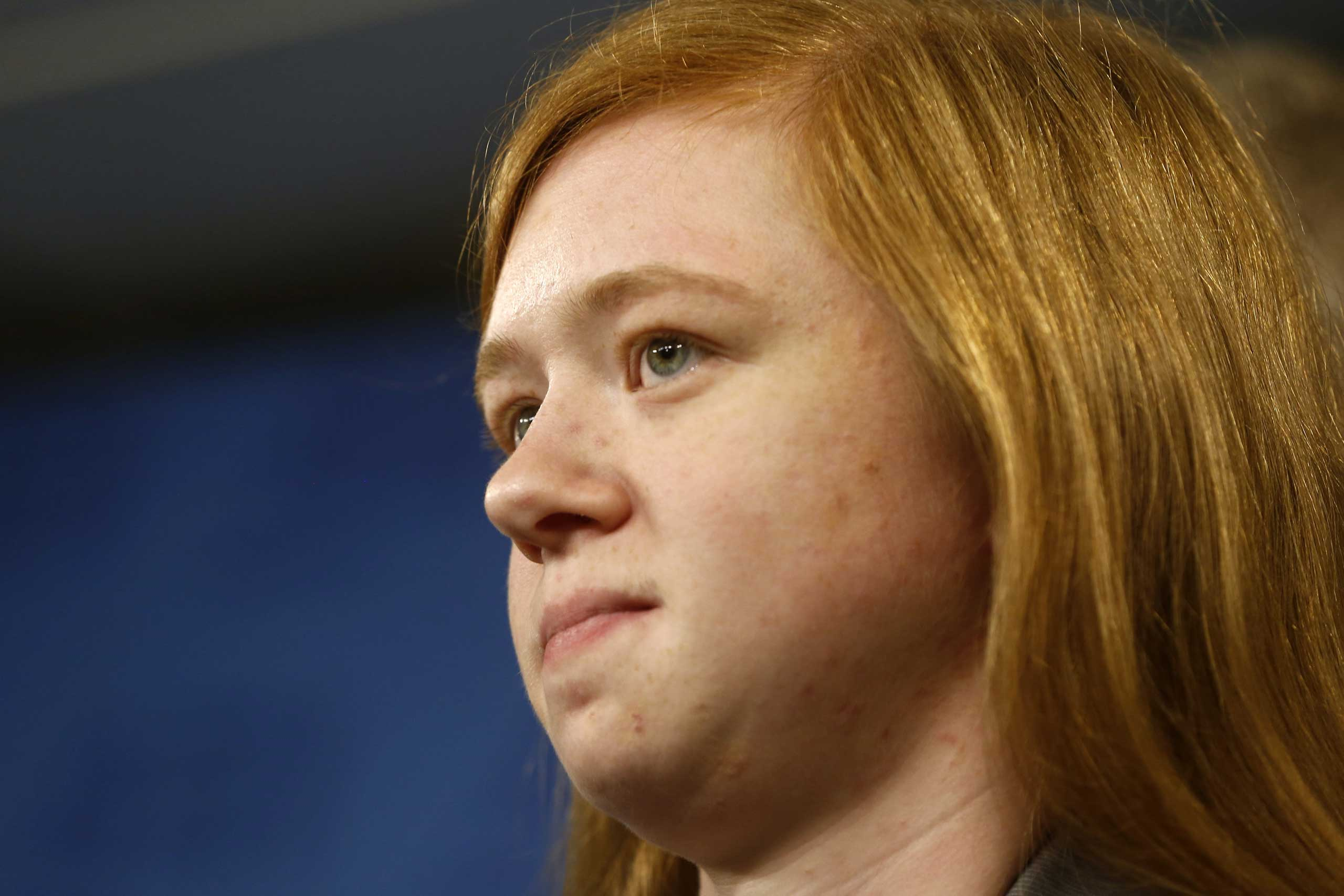 Abigail Fisher, who sued the University of Texas when she was not offered a spot at the university's flagship Austin campus in 2008.