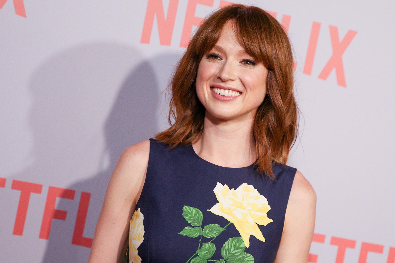 Ellie Kemper arrives at Netflix's  Unbreakable Kimmy Schmidt  Q&A Screening at Pacific Design Center on Sunday, June 7, 2015