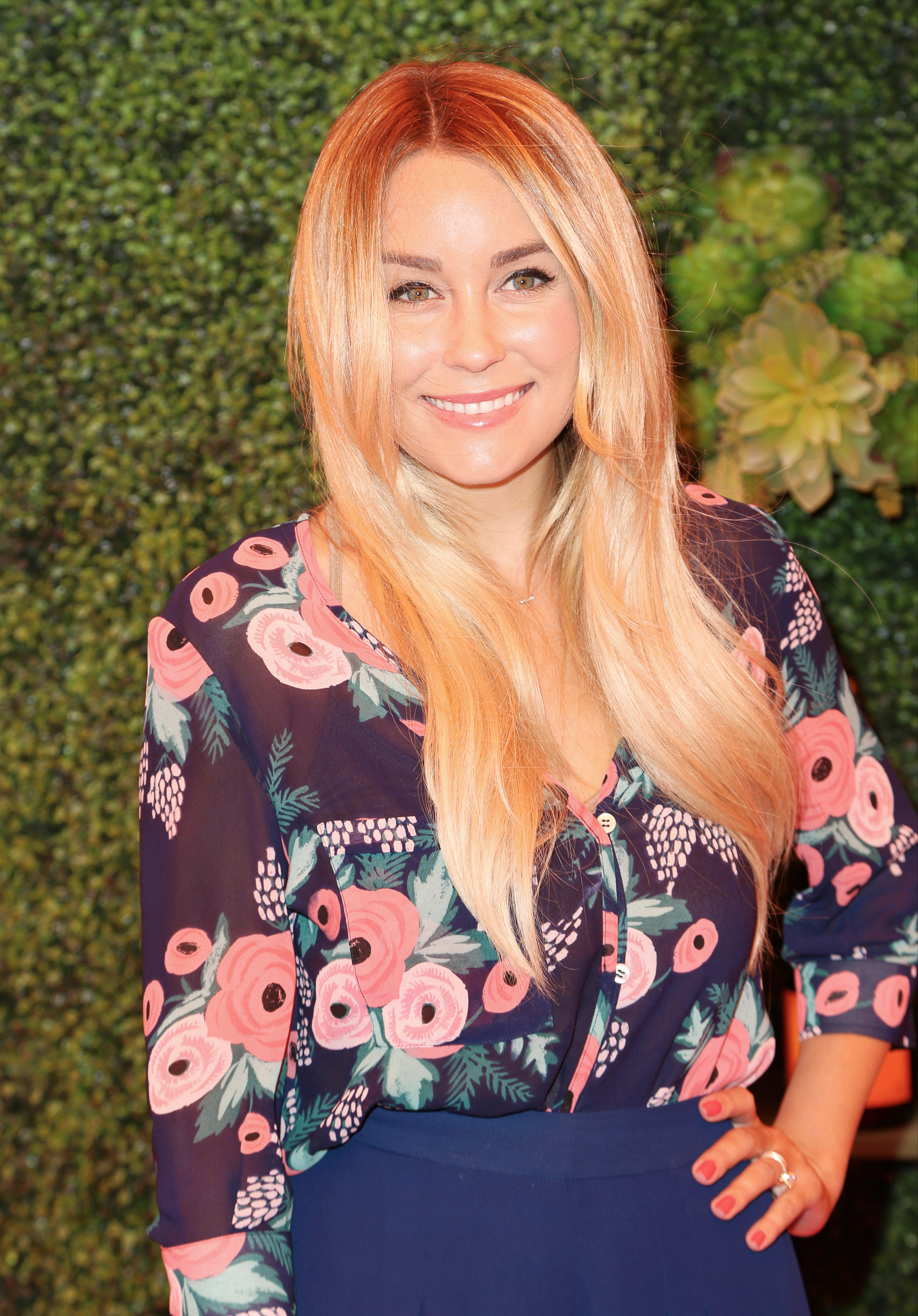 Lauren Conrad at the Fifth Annual Veuve Clicquot Polo Classic in Pacific Palisades, Calif. on Oct. 11, 2014.