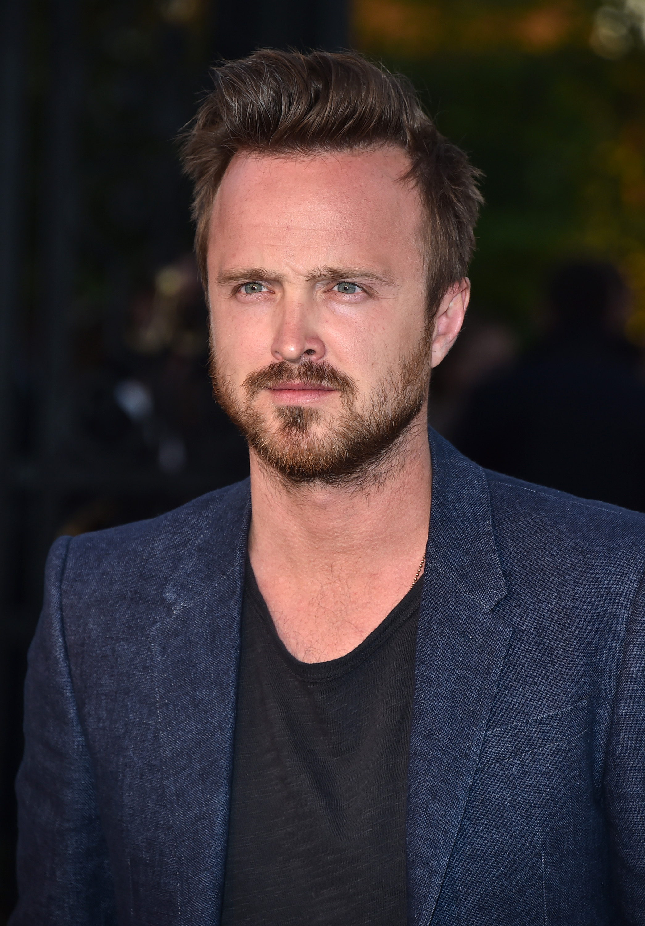 Aaron Paul at Burberry's  London in Los Angeles  event in London on April 16, 2015.