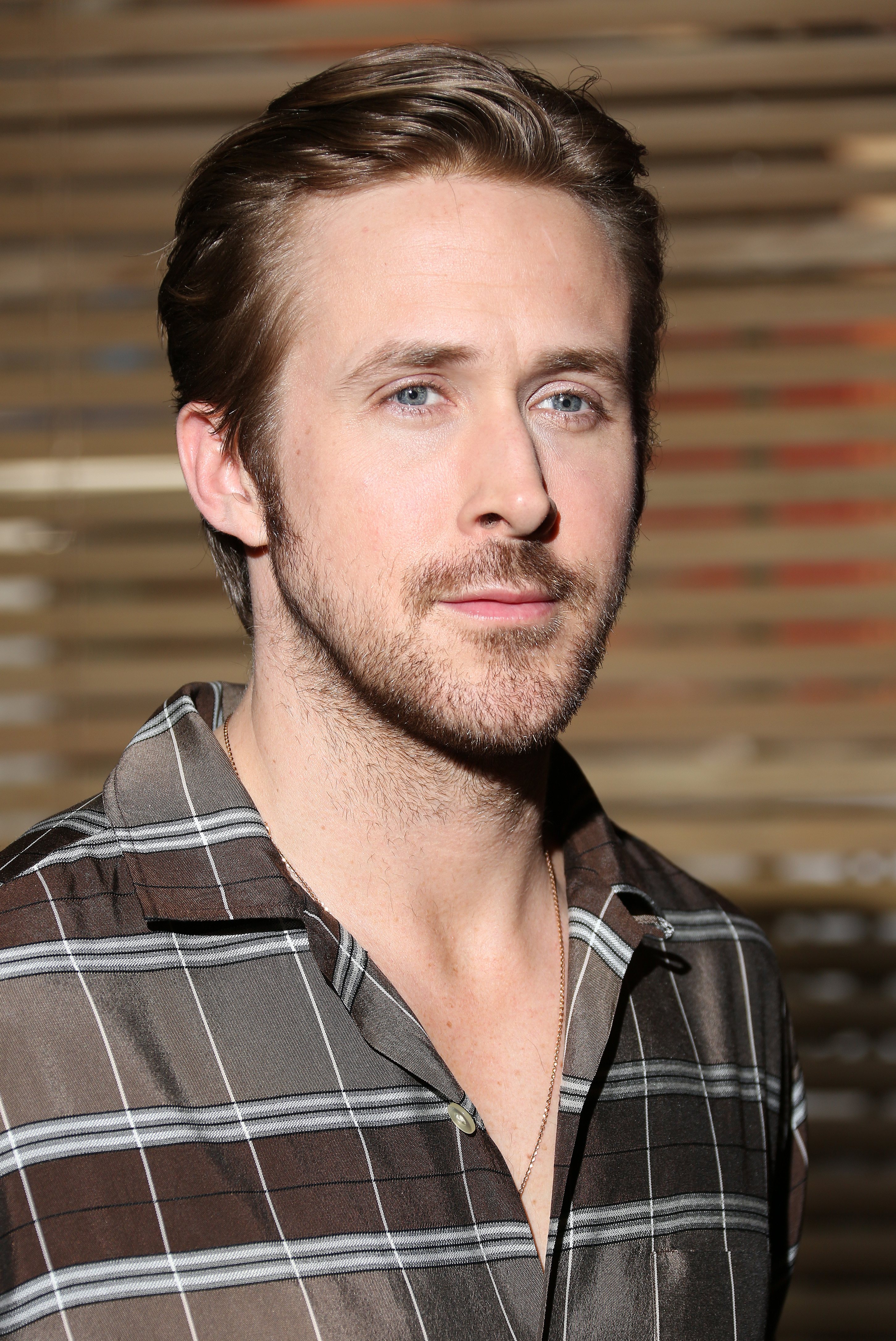 Ryan Gosling at the directorial debut of 'Lost River' in London on April 9, 2015.