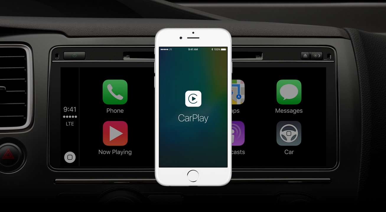Apple announced new features for CarPlay, including the support of third-party apps by automakers that allow you to control the radio or air. Apple also discussed the wireless mode, which has been around since iOS 8.3 but not yet functional since no cars currently support it yet.