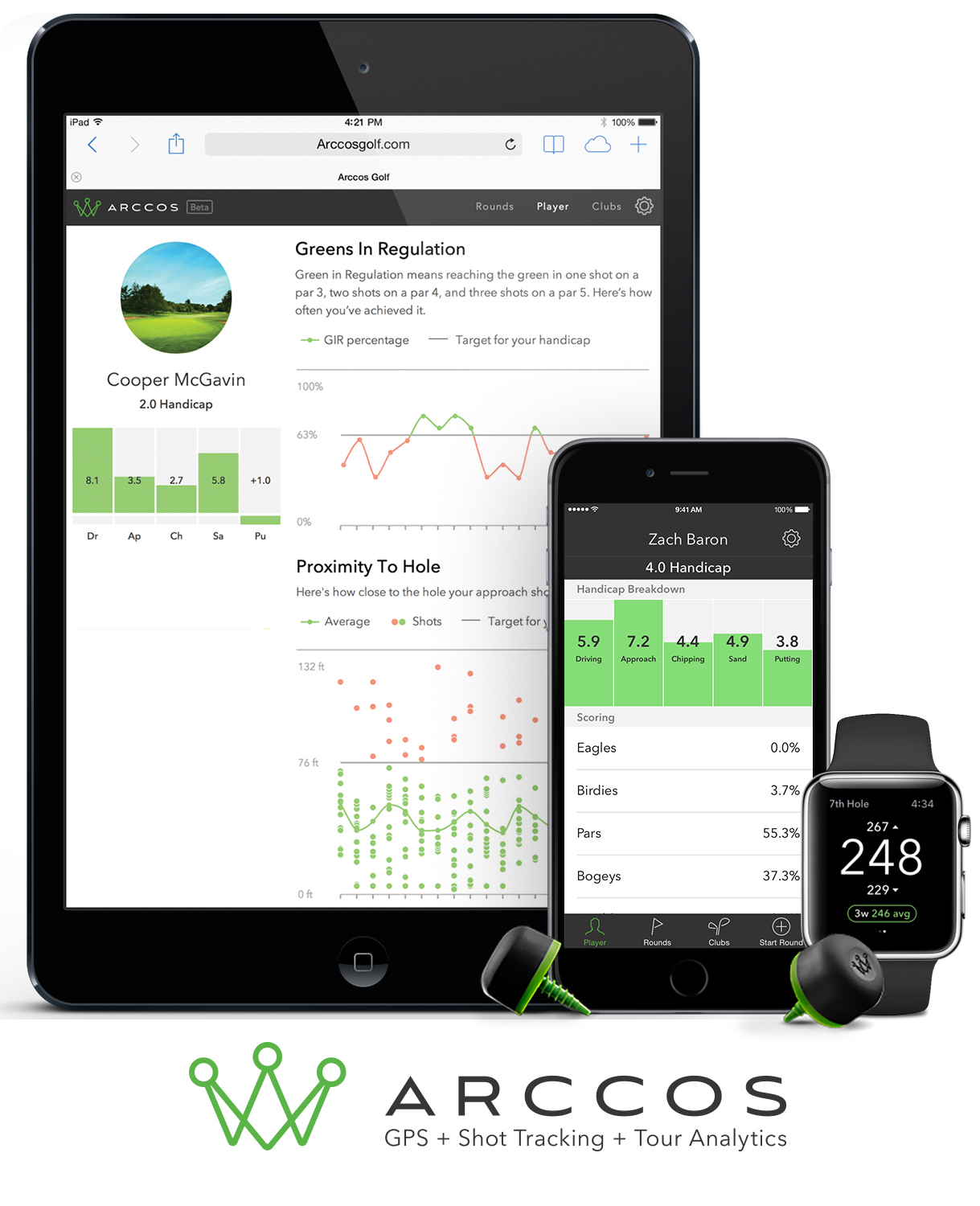 Arccos Golf Apps