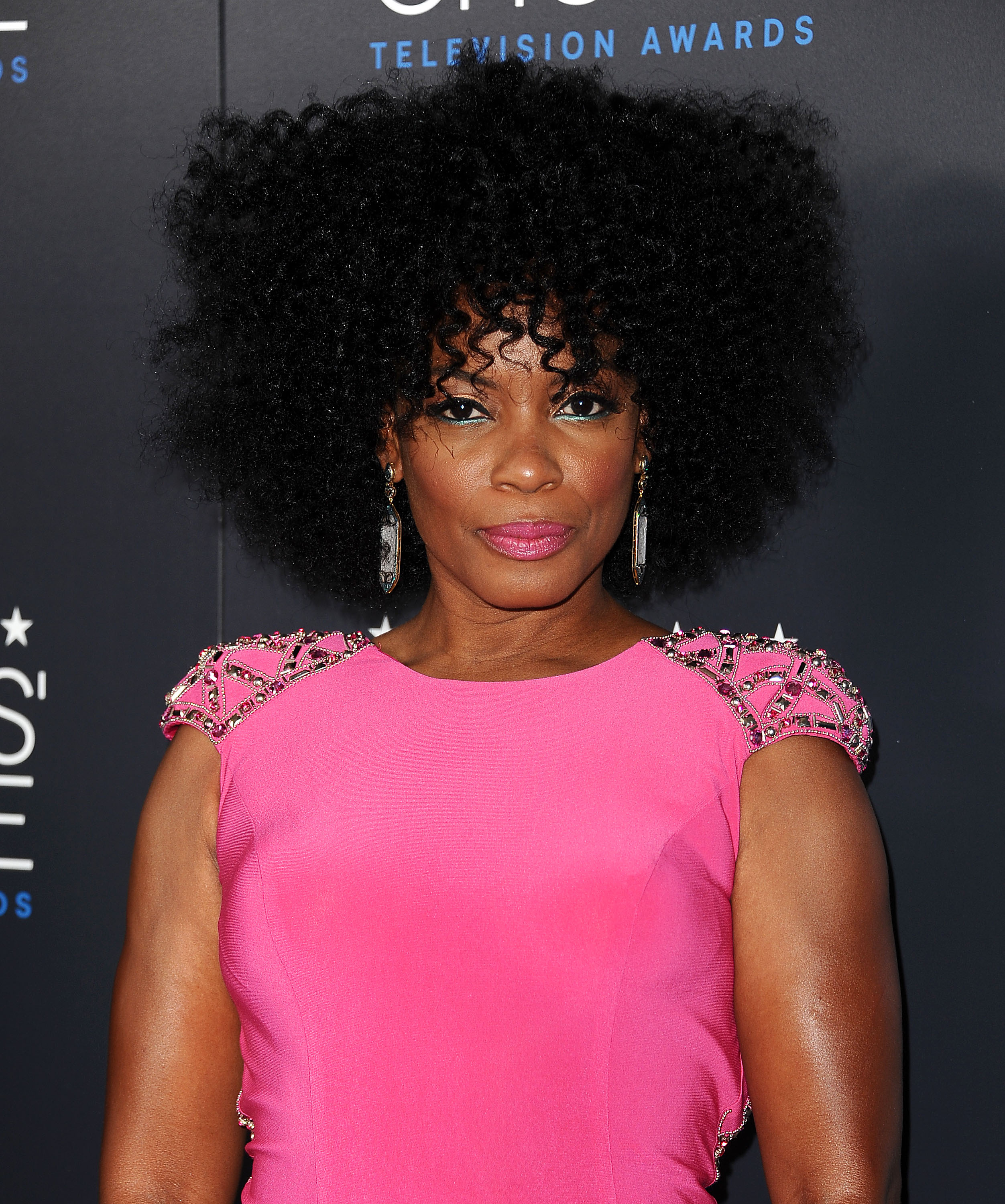Aunjanue Ellis attends the 5th annual Critics' Choice Television Awards at the Beverly Hilton Hotel on May 31, 2015 in Beverly Hills, California.