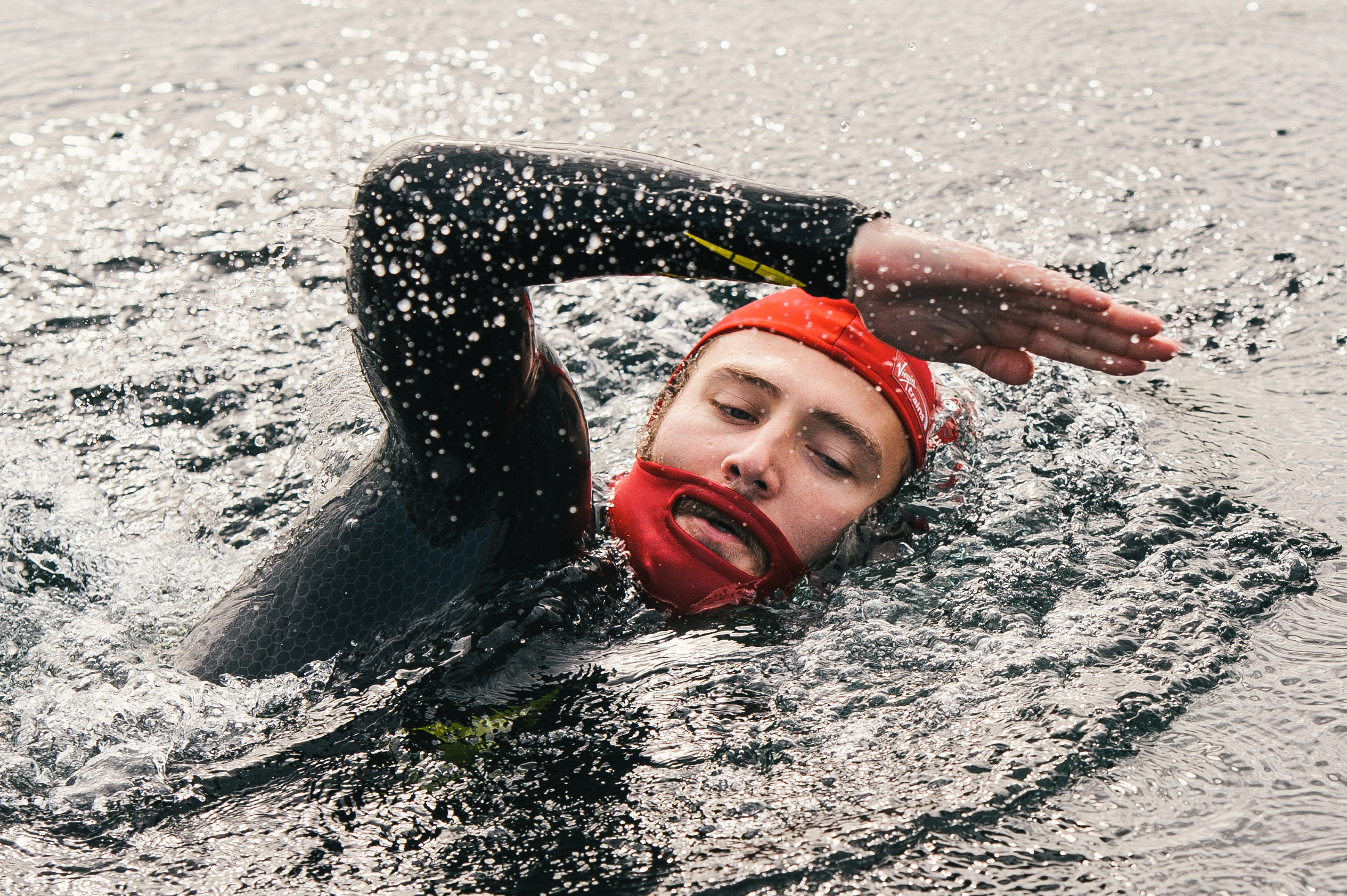 Phenomenal Now There Is A Swimming Cap That Men Can Use For Their Beards Time Natural Hairstyles Runnerswayorg